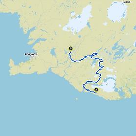 Hochlandtour von Rauðafell nach Reykholt
