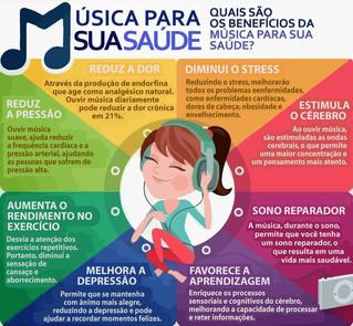 Música para sua saúde!