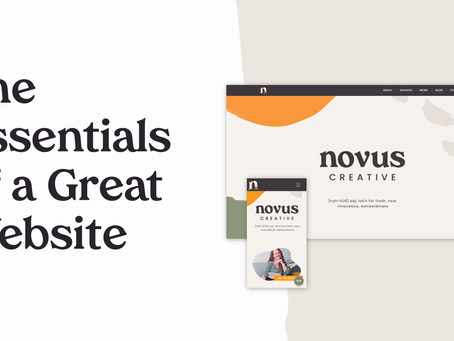 The Essentials of a Great Website