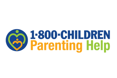 1-800-CHILDREN Parenting Help logo