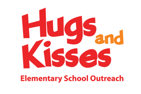 Hugs and Kisses Elementary School Outreach logo