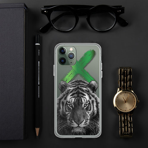 Tiger - Exertus Clear iPhone Case