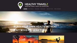 Travel + Wellness Website
