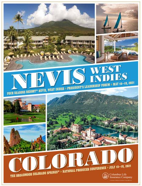 Columbus Life - Nevis, West Indies, Colorado Trip