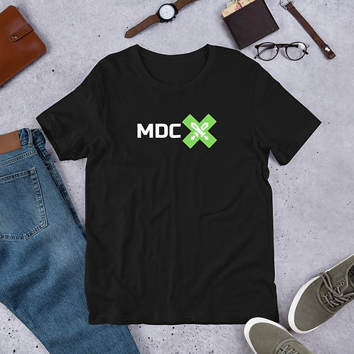Exertus Team - Modern Day Crusaders - Black - Logo Tee