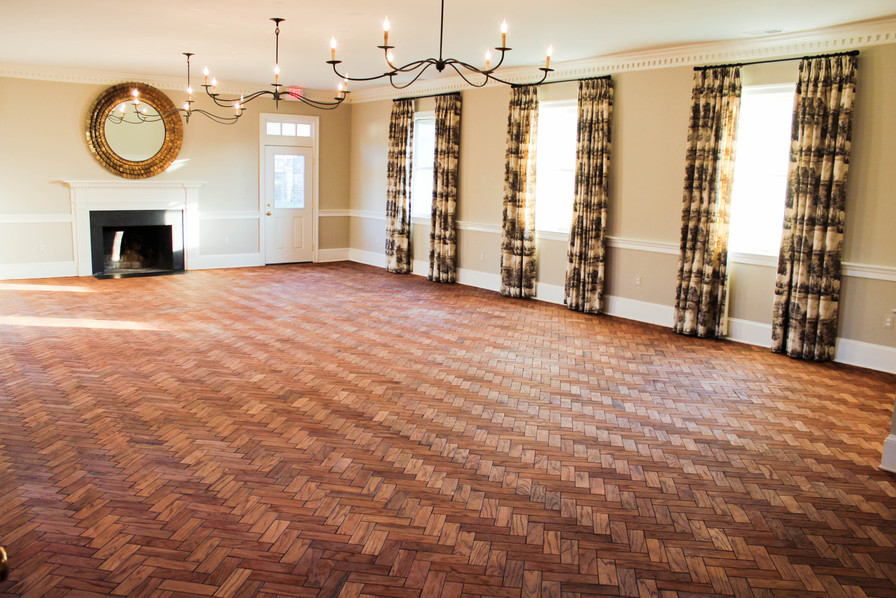 The 1,200 sqft Drawing Room Interior, vacant and ready for your next event.