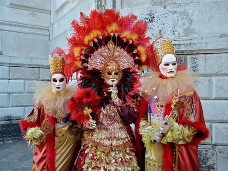 Tarihi Gösteri: Venedik Maske Festivali