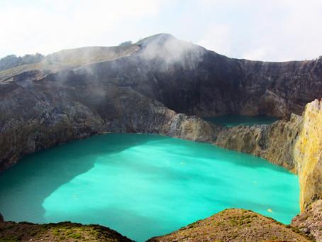 Kelimutu'nun Renkli Dünyası