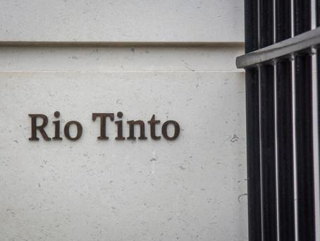Rio Tinto CEO'su Yerlilerin Kutsal Bölgesinin Zarar Görmesi Üzerine İstifa Etti