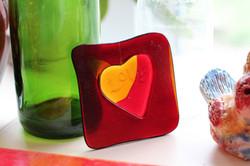 Valentines glass