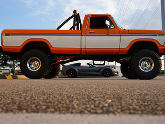 Vette Under Truck