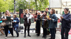 Rebel Choir stalls 2