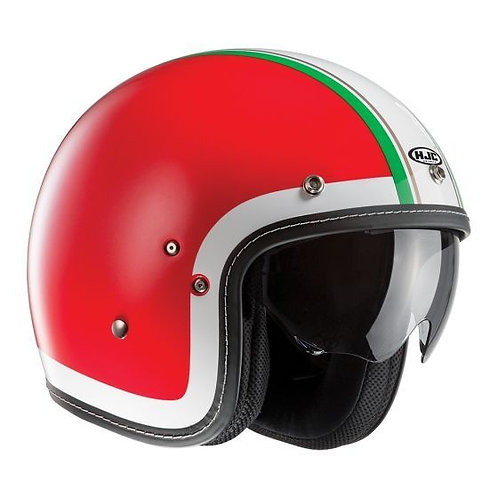 HJC FG-70s Openface Helmets Heritage Red