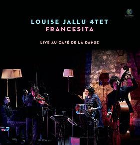 Vinyle_Louise_Jallu_Quartet_-_Francesita