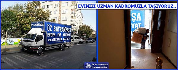 Bayrampaşa Evden Eve Nakliyat İstanbul Bayrampaşa Nakliyat Bayrampaşa Evden Eve Nakliyat İstanbul, Bayrampaşa evden eve nakliyat, sektöründe lider firma konumunda olup parmakla gösterilen nadir firmalardan biridir.Sizler de eşinize dostunuza gönül rahatlığı ile tavsiye edebilirsiniz.Ve şuna emin olun ki bizler ile taşındığınız vakit memnun kalıp diğer tanıdıklarınıza hakkımızda referans olacaksınız.  Siz çok değerli vatandaşlarımıza yaklaşık olarak 25 yılı aşkın bir süredir gerek evden  eve gerekse diğer ihtiyaç duyduğunuz tüm kurumsal hizmet olanaklarını sağlayan şirketimiz 7/24 açık olup sizlere hizmet vermeye hazırdır.