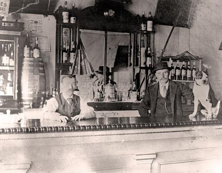 Interior of the Exchange Saloon