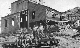 Miners at the Duncan Mine in 1913