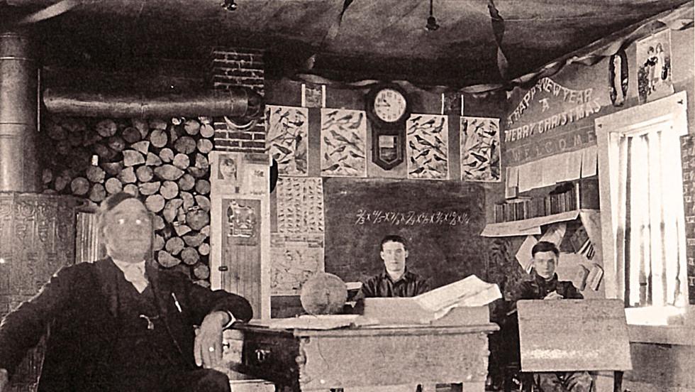 Interior of the School circa 1948