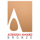 A' Design Award 2016 (Bronze Winner)