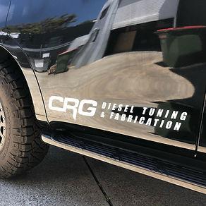 CRG Door Banner Metalic Silver