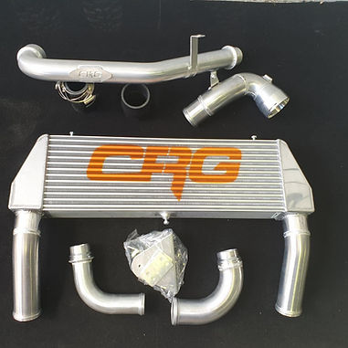 Nissan Navara NP300 Racer series Intercooler, Nissan Navara NP300 Hot Pipe / Nissan Navara NP300 Throttle Body