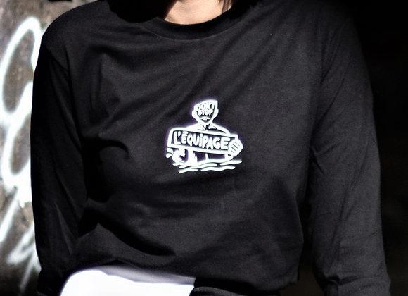 T-shirt manche longue piranha