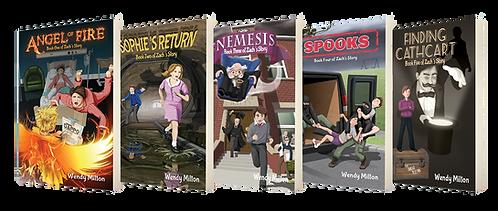Zach's Story: Books 1–5