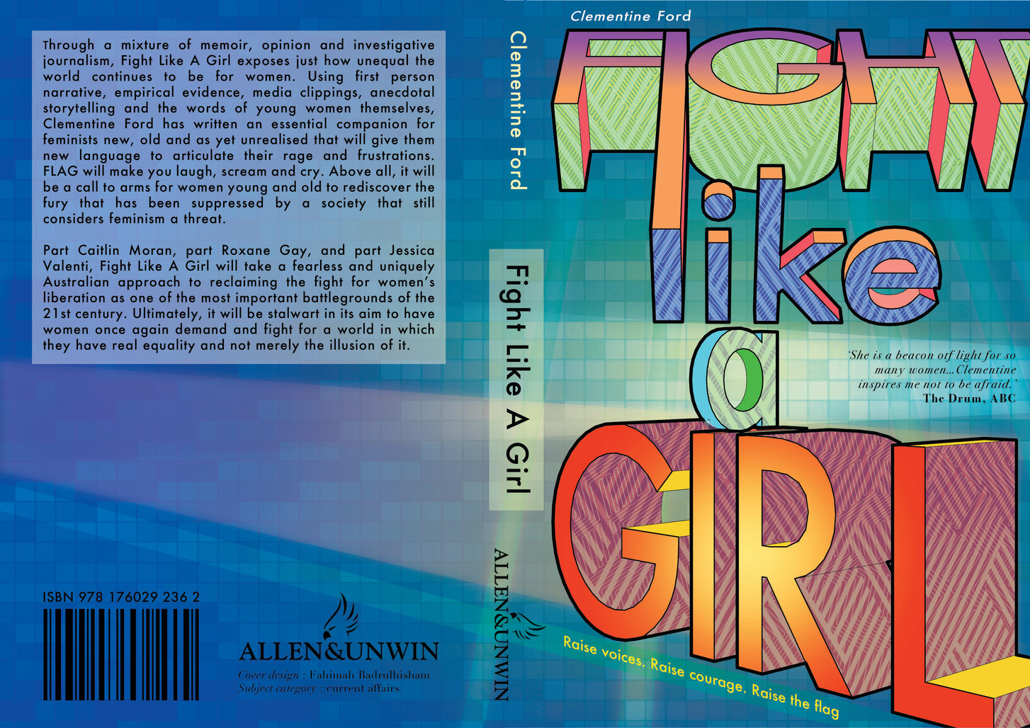 Competition entry. The cover they went with is nowhere near as funky as this. I'm not biased.