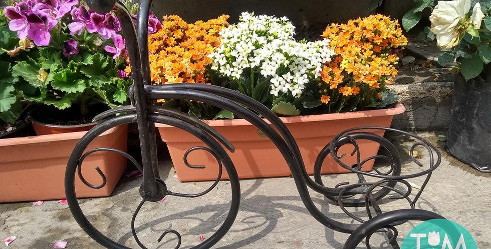 Base en forma de bicicleta para maceta  (Individual)