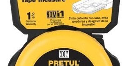 Flexómetros 8m en tarjeta plástica, Pretul