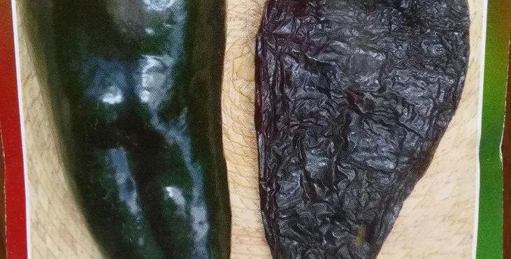 Semillas de Chile Poblano (Chile Ancho)