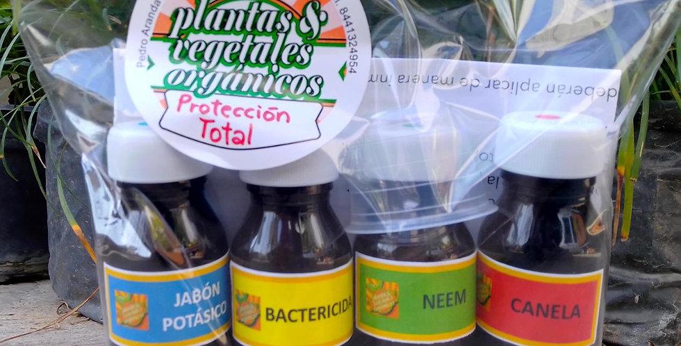 Concentrados orgánicos para control de plagas