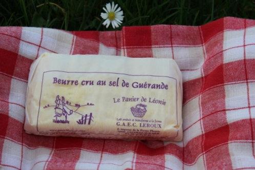 BEURRE CRU SEL DE GUERANDE 250 G