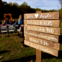 Event Sign - Wedding