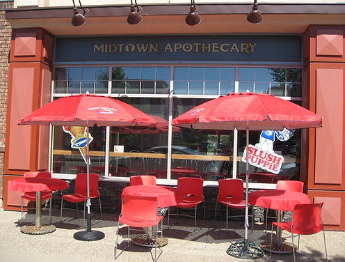 Midtown Apothecary Pharmacy and Ice Cream Parlour Outside View