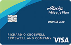 Bank of America Alaska Airlines Visa Business credit card review!