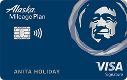 Bank of America Alaska Airlines Visa credit card review!