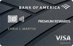 Bank of America Premium Rewards credit card review!