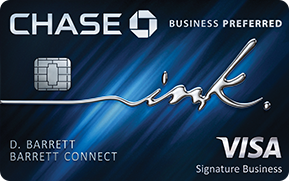 Chase Business Ink Preferred credit card review!