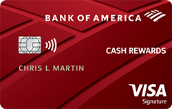 Bank of America Cash Rewards credit card review!