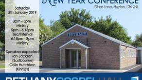 New Year Conference 2019 - Sat 5th January