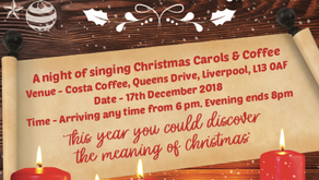 Carols & Coffee @ Costa Coffee on 17th December from 6pm 2018