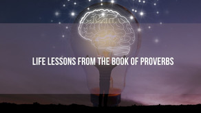 Life Lessons from the book of Proverbs - Sat 27th Feb @ 8:00pm