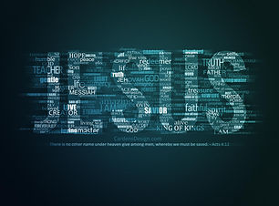 Words about Jesus