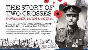 The Story of Two Crosses                            Nov 30th @ 8:00pm 2018
