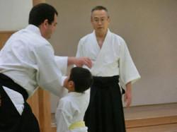 Aikido niños Japón