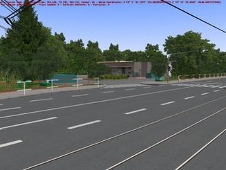 Petrol station at Vozovna Vokovice