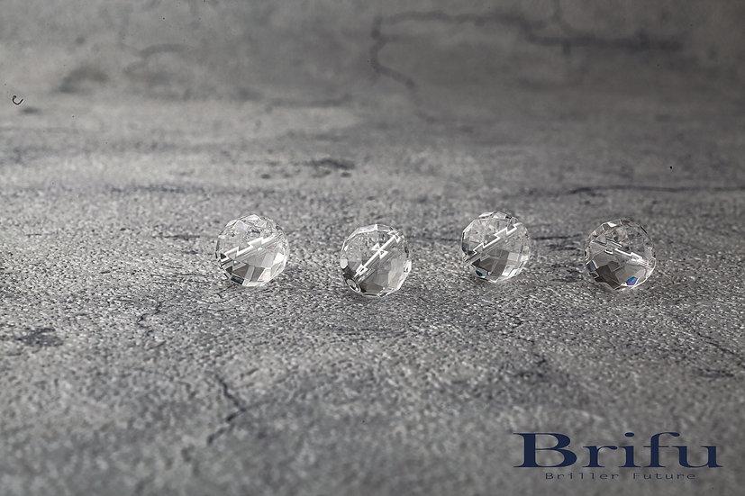 水晶128面カット|10mm|【5A】