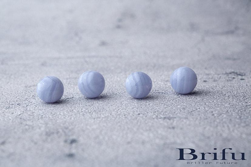 ブルーレースアゲート 12mm 【5A】