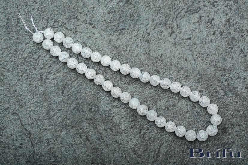 クラック水晶|6mm|【連売り】【5A】